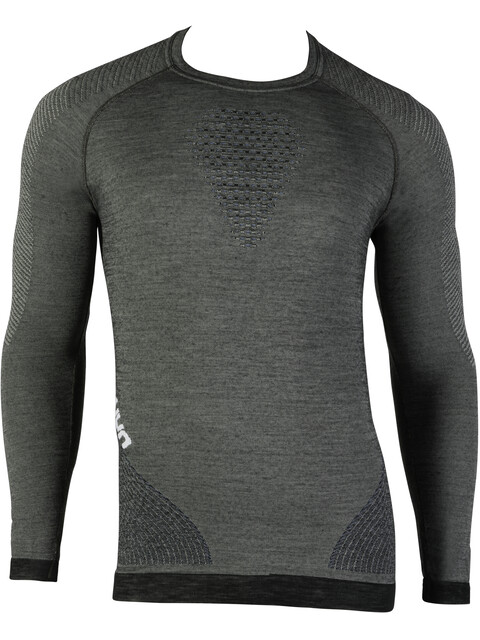 UYN Fusyon UW LS Shirt Men Grey York/Avio/White